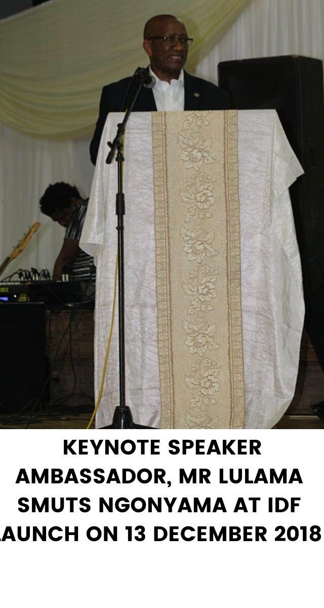 Keynote Spencer at IDF 1year Anniversary, 27 January 2019, Evangelist Philani Ntsiko(3)